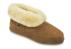Walnut Brown Acorn Sheepskin Bootie II