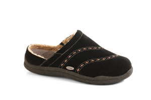 Black Acorn Wearabout Beaded Clog