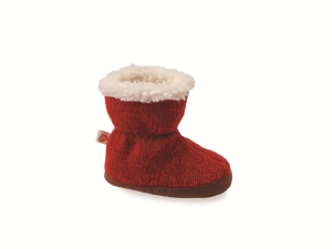 Red Ragg Wool Acorn Easy Bootie Ragg