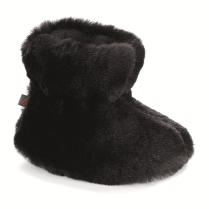 Black Bear Acorn Tex Easy Bootie