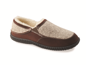 Acorn Rambler Moc in Grey Ragg Wool