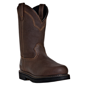 Dark Brown McRae 11 Inch Pull On Steel Toe