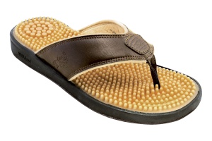 Brown Nothinz Islander Message Sandals