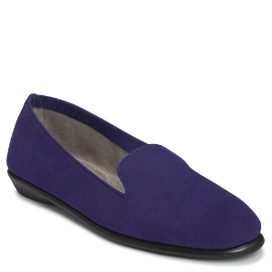 Dark Blue Suede Aerosoles BETUNIA