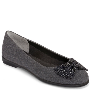 Grey Fabric Aerosoles Imbeccable