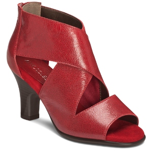 Red Leather Aerosoles Argintina