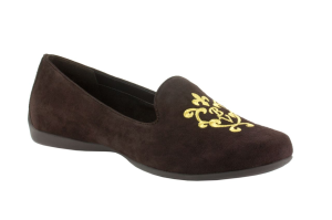 Chocolate Suede Bella Vita Crest