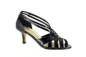 Black Patent Bella Vita Lattice II