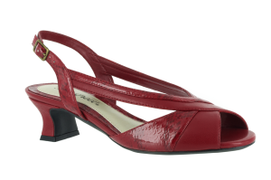 Red-Patent Easy Street Jalyn
