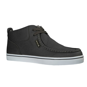 Charcoal/White Lugz Strider Twill