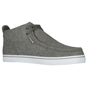 Charcoal/White Lugz Strider Peacoat