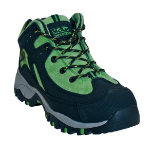Black/Green McRae Mid Height Metatarsal Guard Steel Toe Hiker