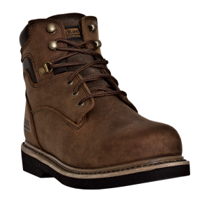 Chestnut Crazyhorse McRae 6 Inch Lace Up Steel Toe