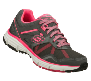 PinkGray Skechers Alignment
