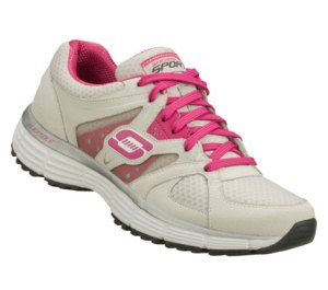 PinkGray Skechers Agility - New Vision