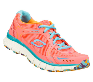 BluePink Skechers Flex Fit - Fade Away