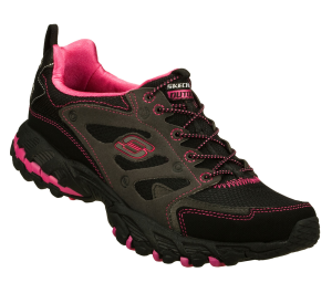 PinkBlack Skechers Spider - All Road