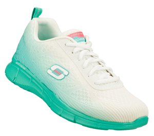 GreenWhite Skechers Equalizer - Oasis