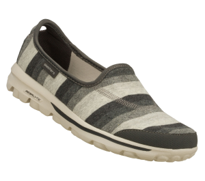 GrayGray Skechers Skechers GOwalk - Stripy