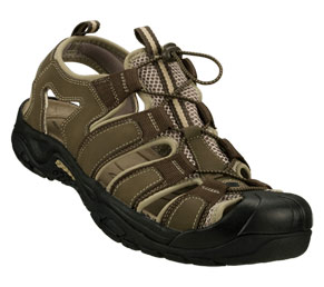 Brown/Tan Skechers Journeyman - Safaris