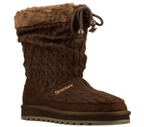 Brown Skechers Keepsakes-Blur