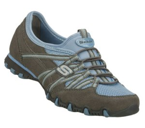 BlueGray Skechers Bikers - Stereo Sound