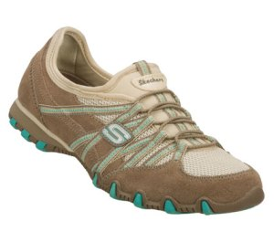 NaturalBrown Skechers Bikers - Stereo Sound