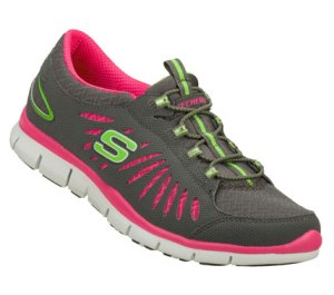 PinkGray Skechers Gratis - In Motion