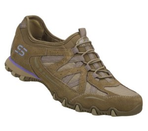 Brown Skechers Bikers - Equation