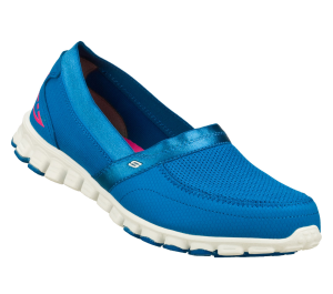 Blue Skechers EZ Flex - Take It Easy