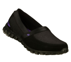 Black Skechers EZ Flex - Magnetic
