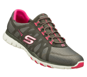 PinkGray Skechers Eclipsed - Hyped