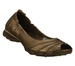 Bronze Skechers Bikers Scrunchy