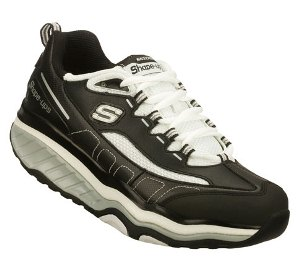Black Skechers Shape-ups Evolution