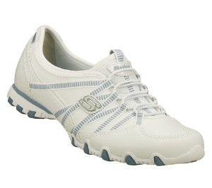 White Skechers Bikers Dream Come True