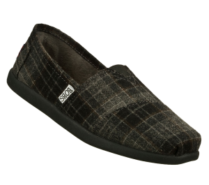 GrayBlack Skechers Bobs World - Earth Conscious