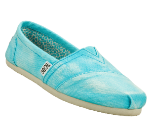 Blue Skechers Bobs - Stand By Me