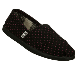 Black Skechers Bobs World - Polka Dottin