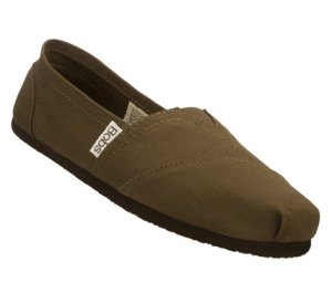 Brown Skechers Bobs - Earth Day