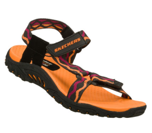 BlackOrange Skechers Reggae - Bright Idea