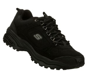 Black Skechers Energy 3- Punisher