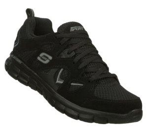 Black Skechers Synergy - Gridiron
