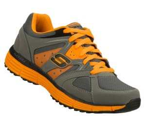 OrangeGray Skechers Agility - Outfield