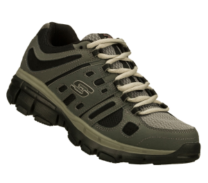 Gray Skechers Bravos