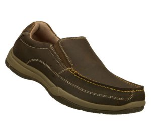 Brown Skechers Relaxed Fit: Valko - Niguel