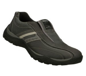 GrayBlack Skechers Relaxed Fit: Artifact - Excavate