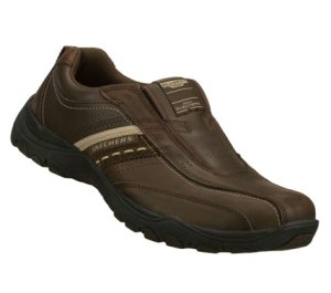 Brown Skechers Relaxed Fit: Artifact - Excavate