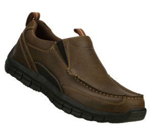 Brown Skechers Relaxed Fit: Masen - Leone