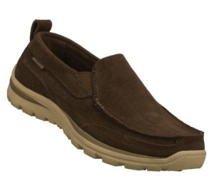 Brown Skechers Relaxed Fit: Superior - Pace