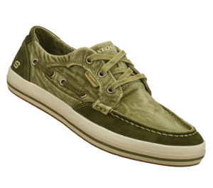 Olive Skechers Relaxed Fit: Diamondback - Leroy